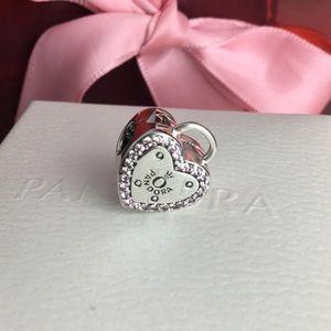 Pandora heart clip charm💕✨💕✨